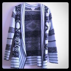 Sweaters - Blue cardigan